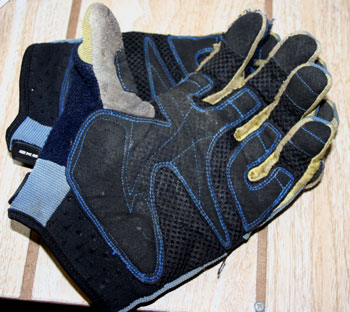 axo cabria gloves palm