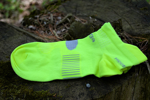balega socks hidden dry yellow