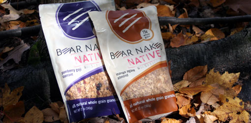 bear naked native granola bags
