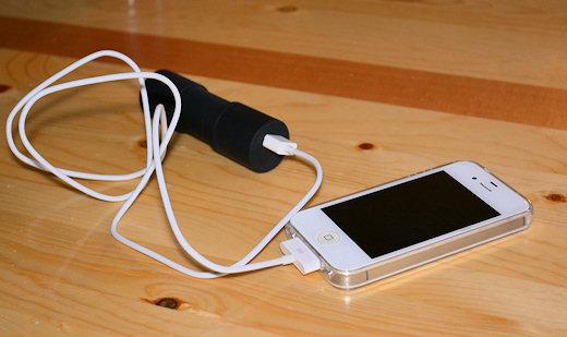 bike2power charging iphone