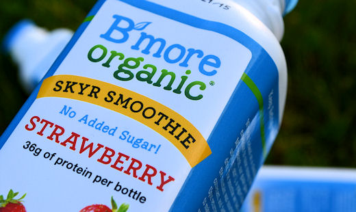 b'more organic skyr smoothie 36g protein