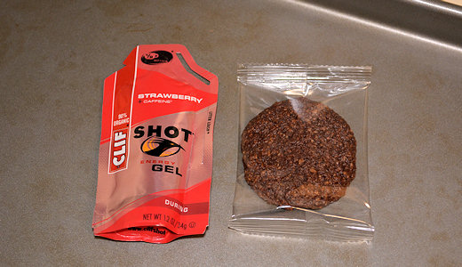 caveman cookies compared to gel packet