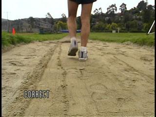 chirunning in sand