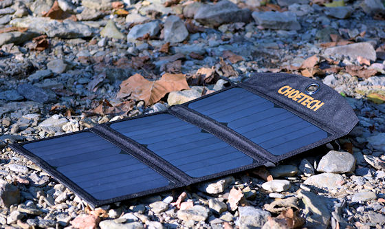 choe 19w portable solar panels