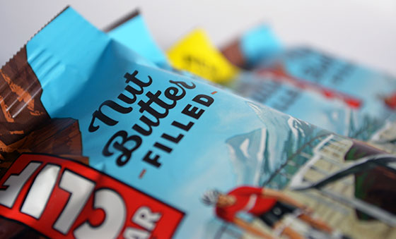 clif bar nut butter filled bars in wrappers