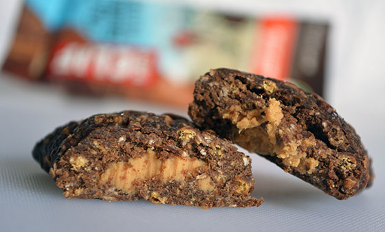 chocolate peanut butter filled clif bar