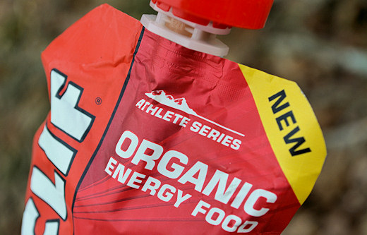 clif athlete series organic energy food