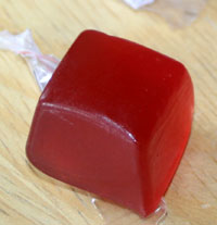 clif shot blok strawberry