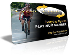 cyclo-club platinum member card