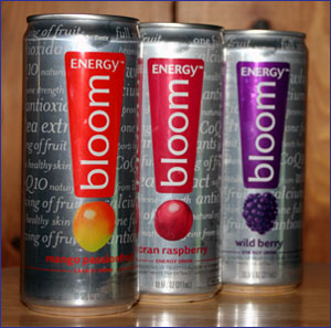 del monte energy bloom drink