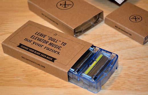 dollar shave club boxes