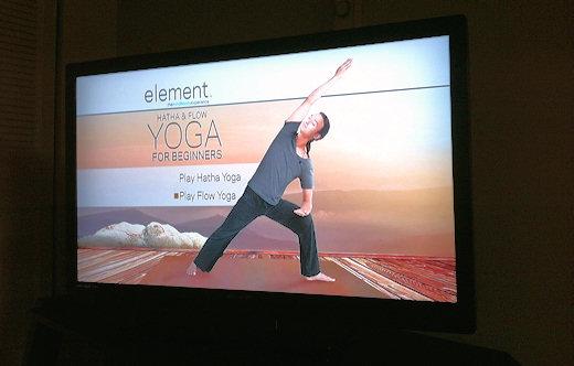 element hatha flow yoga screen