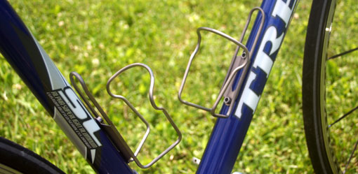 forte stainless steel bottle cages