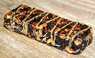 forze gps bar chocolate peanut butter