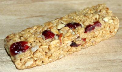 forze gps bar cranberry nut
