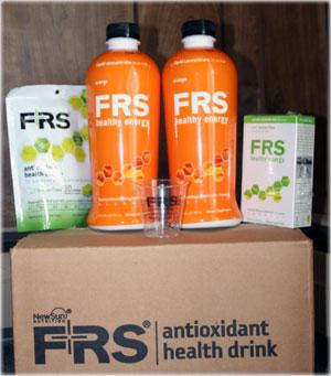 frs energy drink box