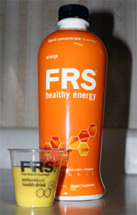 frs energy drink concentrate orange