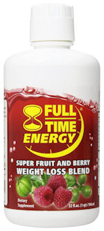 full-time energy liquid bottle