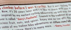 gary's panforte story