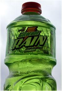 gatorade rain bottle