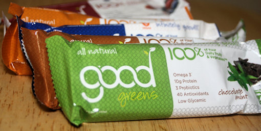 good greens bars