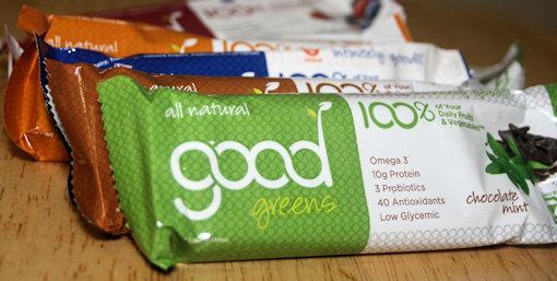 good greens bars