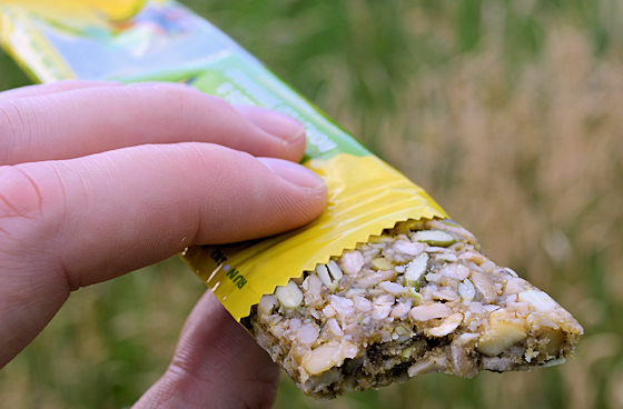 honey stinger nuts seeds serrano snack bar