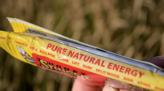 pure natural energy wrapper