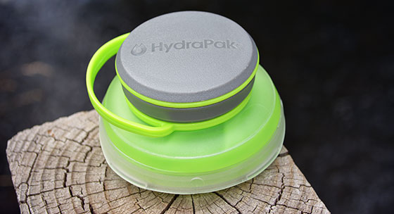 collapsed hydrapak stash collapsible water bottle