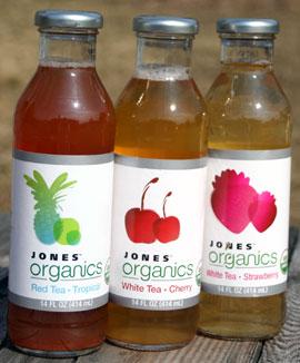 jones organics tea