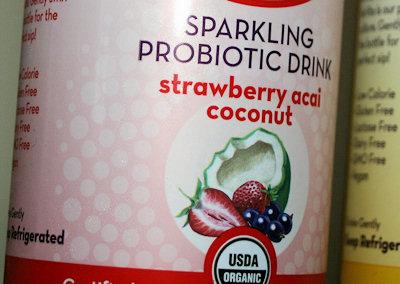 kevita strawberry acai coconut flavor