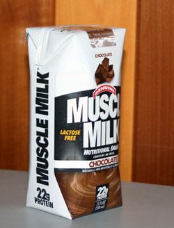 muscle milk shake