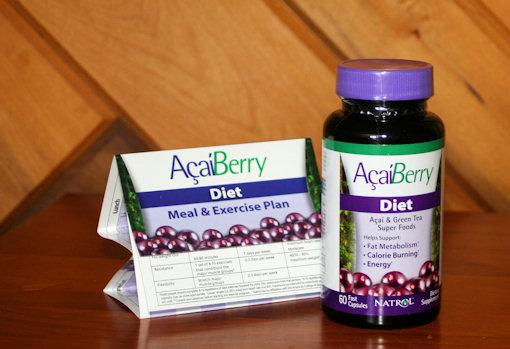 Natrol Acaiberry Diet Pills Review By Coach Levi