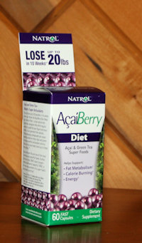 natrol acaiberry diet box
