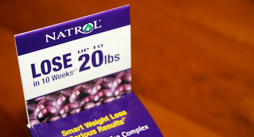 natrol acaiberry diet claims