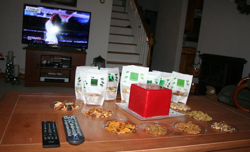 naturebox snacks buffet table