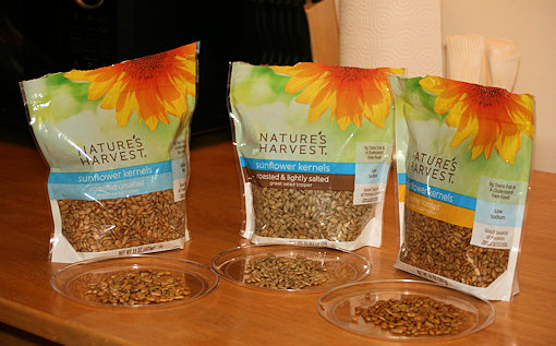 nature's harvest sunflower kernels