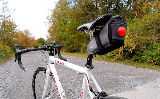 niteize saddlelite on road bike