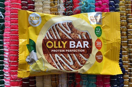 olly bar in wrapper