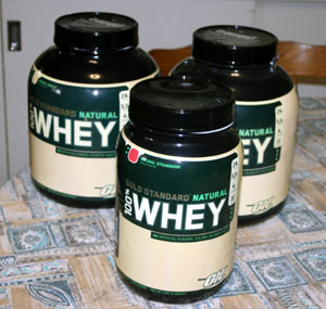 gold standard natural whey protein