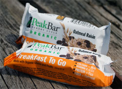peak bar breakfast to go bar