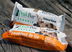 peak bar breakfast to go bar
