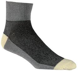 performance coolmax kevlar cycling sock