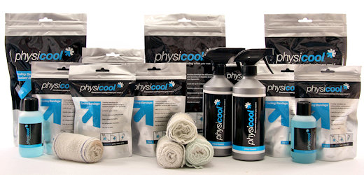 physicool product lineup