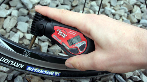 using planet bike airmate gauge
