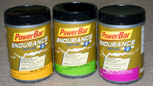 powerbar endurance sports drink canisters