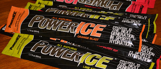 stack of power ice bars