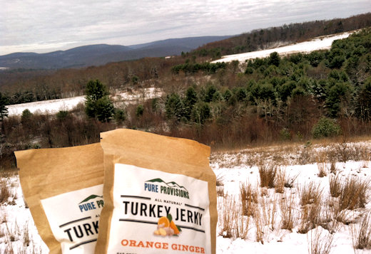 pure provisions jerky packs at overlook