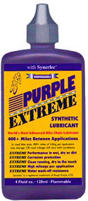 purple extreme chain lube
