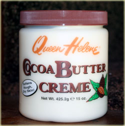 queen helene cocoa butter creme jar